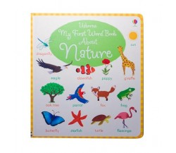 Usborne - My first word book about nature