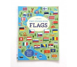 Usborne - First sticker book flags