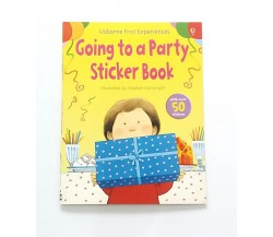 Usborne - First experiences sticker books - Going to a party
