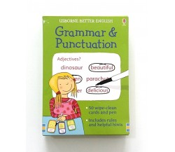 Usborne - Grammar and punctuation cards