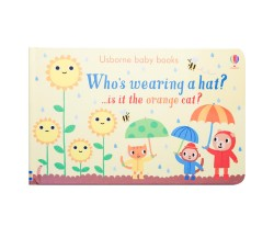 Usborne baby books - Who's wearing a hat?