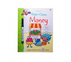 Usborne - Wipe-clean money