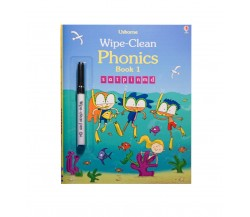 Usborne - Wipe-clean phonics book 1