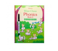 Usborne - Wipe-clean phonics book 2