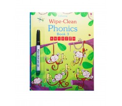 Usborne - Wipe-clean phonics book 3