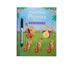 Usborne - Wipe-clean phonics book 4