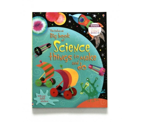 Usborne - Big book of science things to make and do