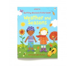 Usborne - Getting dressed sticker book: Weather and seasons