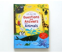 Usborne - Lift-the-flap questions and answers about animals