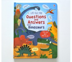Usborne - Lift-the-flap questions and answers about dinosaurs