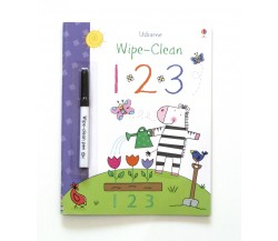 Usborne - Wipe-clean 1 2 3