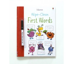 Usborne - Wipe-clean first words