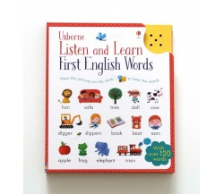Usborne - Listen and learn first English words Sound Book
