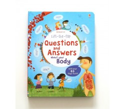 Usborne - Lift-the-flap questions and answers about your body