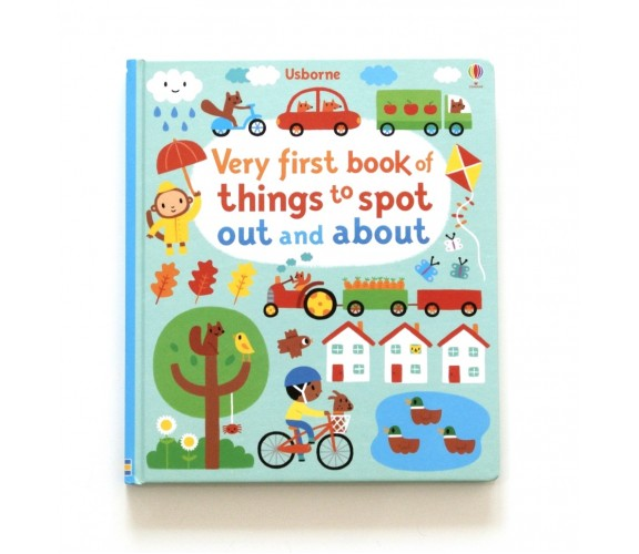 Usborne - Very first book of things to spot out and about