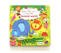 Usborne - Baby's very first play book animal words