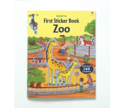 Usborne - First Sticker Book : Zoo