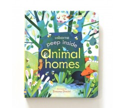 Usborne - Peep inside animal homes