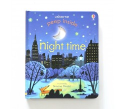 Usborne - Peep inside night time