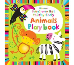 Usborne - Baby's very first touchy-feely animals play book