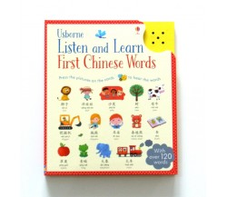 Usborne - Listen and learn first Chinese words
