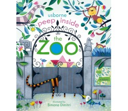 Usborne - Peep inside the zoo