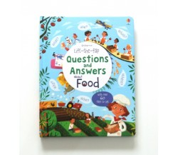 Usborne - Lift-the-flap questions and answers about food