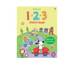 Usborne - First Sticker Book : 123