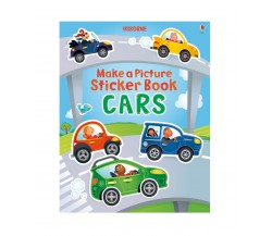 Usborne - Make a picture sticker books : Cars