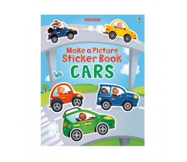 Make A Picture Sticker Books Cars