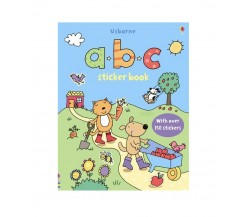 Usborne - First Sticker Book : ABC
