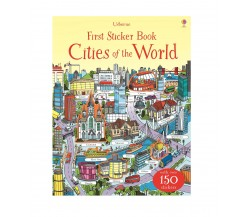 Usborne - First Sticker Book : Cities of the world