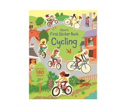 Usborne - First Sticker Book : Cycling