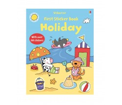 Usborne - First Sticker Book : Holiday