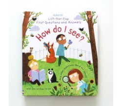 Usborne - How do I see? - Lift-the-flap first questions and answers
