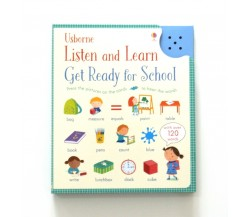 Usborne - Listen and Learn Get ready for school - Sound book
