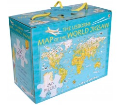 Usborne - Map of the world jigsaw