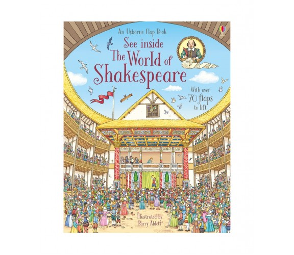 Usborne - See inside the world of Shakespeare