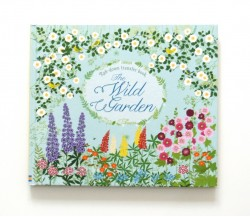 Usborne - The wild garden - Rub-down transfer book