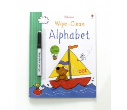 Usborne - Wipe-clean alphabet