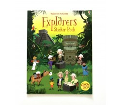 Usborne - Explorers sticker book