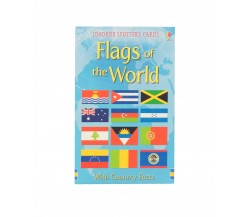 Usborne - Flags of the world cards