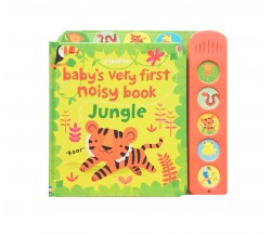 Usborne - Baby's very first noisy book: Jungle - sound book