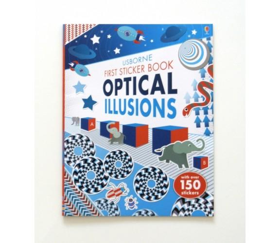 Usborne - First Sticker Book Optical Illusions