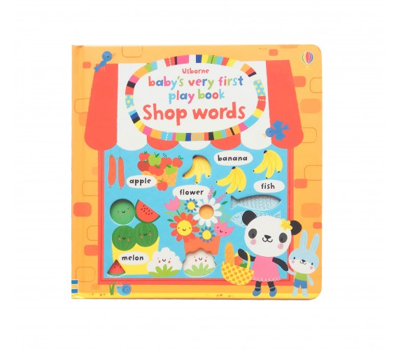 Usborne - Baby's very first play book shop words