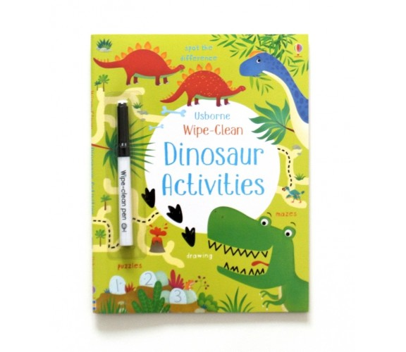 Usborne - Wipe-clean dinosaur activities