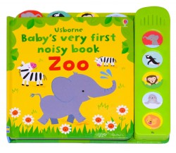 Usborne - Baby's very first noisy book Zoo - Sound Book