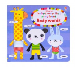 Usborne - Baby's very first playbook body words