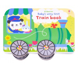 Usborne - Baby's very first train book