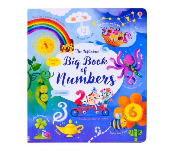 Usborne - Big book of numbers